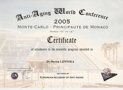 Anti-Aging World Conference - Monaco 2005